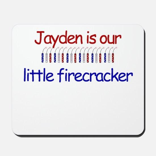 Jayden Firecracker Mousepad