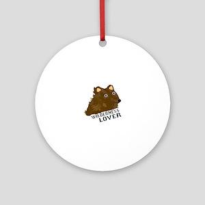 Wilderness Lover Ornament (Round)