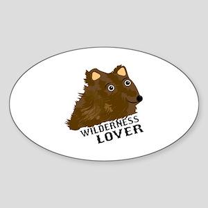 Wilderness Lover Sticker