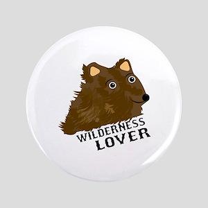 """Wilderness Lover 3.5"""" Button"""