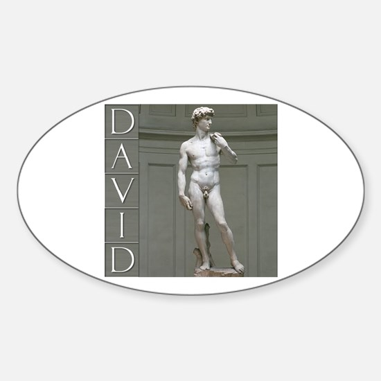 David Oval Decal