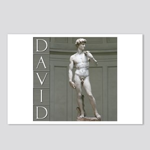 David Postcards (Package of 8)