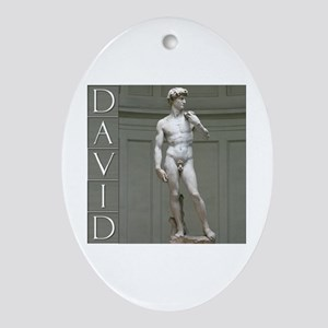 David Oval Ornament