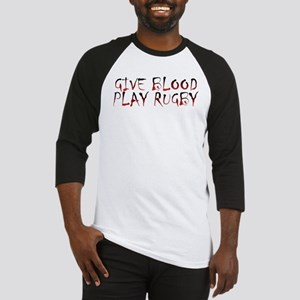 GIVE BLOOD PLAY RUGBY JERSEY
