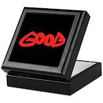 Good vs Evil ~ evil red Keepsake Box