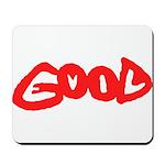 Good vs Evil ~ evil red Mousepad