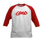 Good vs Evil ~ evil red Kids Baseball Jersey
