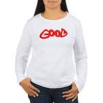 Good vs Evil ~ evil red Women's Long Sleeve T-Shir