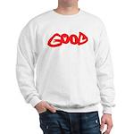 Good vs Evil ~ evil red Sweatshirt