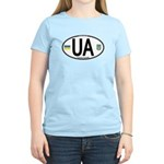 Ukraine Intl Oval Women's Light T-Shirt