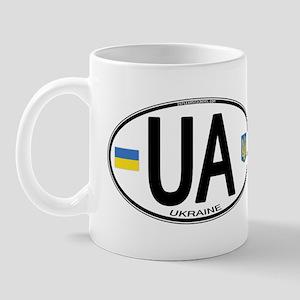 Ukraine Intl Oval Mug