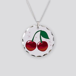 Sparkling Cherries Necklace