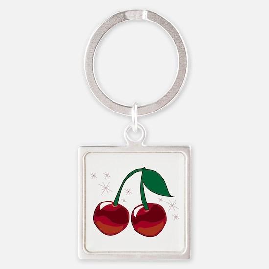 Sparkling Cherries Keychains