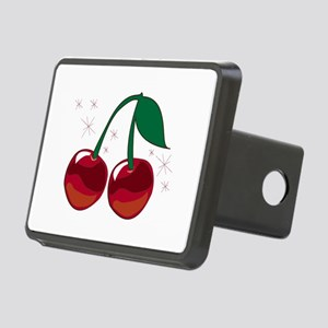 Sparkling Cherries Hitch Cover