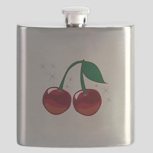 Sparkling Cherries Flask
