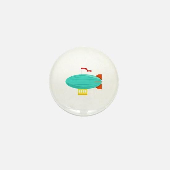 Zeppelin Mini Button