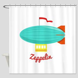 Zeppelin Shower Curtain