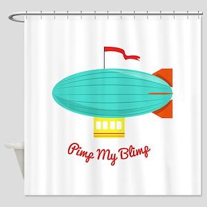 Pimp My Blimp Shower Curtain