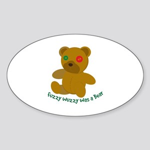 Fuzzy Wuzzy Sticker