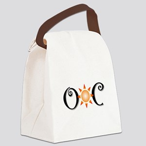 Ocean City Canvas Lunch Bag