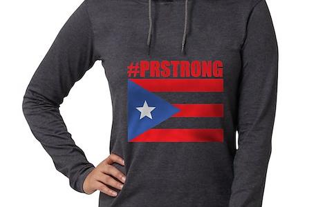 Prstrong Puerto Rico Long Sleeve T Shirt