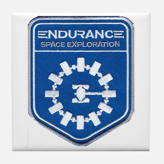 Endurance Interstellar Mission Tile Coaster