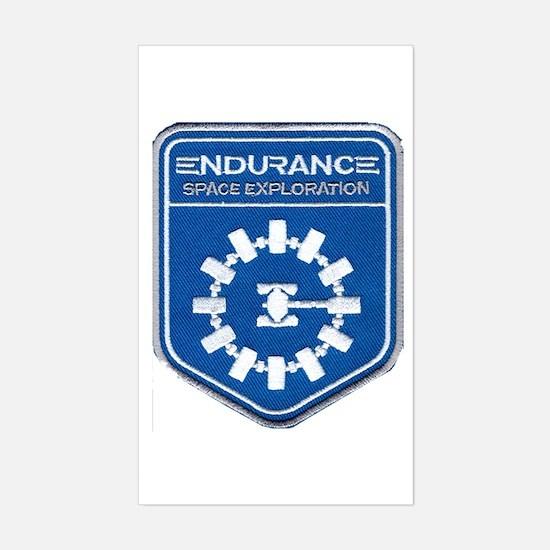 Endurance Interstellar Mission Sticker (Rectangle)