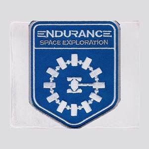 Endurance Interstellar Mission Throw Blanket