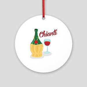 Chianti Ornament (Round)
