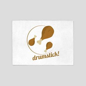 Drumstick! 5'x7'Area Rug