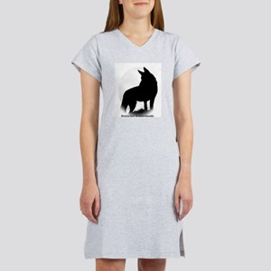 Black Shepherd Women's Nightshirt