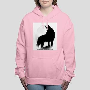Black Shepherd Women's Hooded Sweatshirt