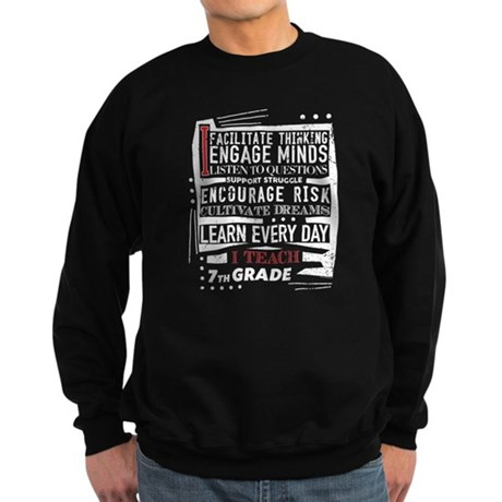 7th Grade Teacher Teacher Appreciation Sweatshirt