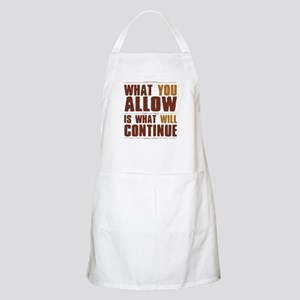 What You Allow Apron