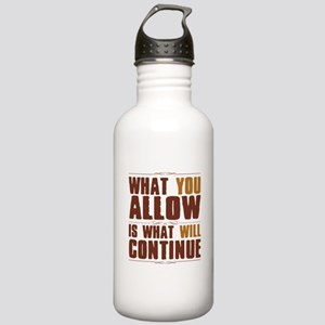 What You Allow Stainless Water Bottle 1.0L