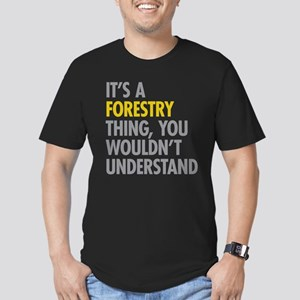 Its A Forestry Thing Men's Fitted T-Shirt (dark)