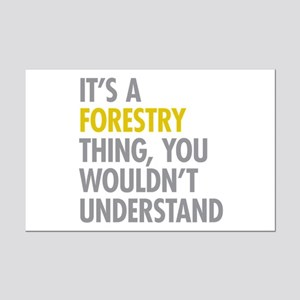 Its A Forestry Thing Mini Poster Print