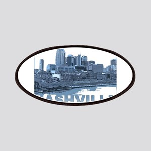 Nashville Tennessee Skyline Patches