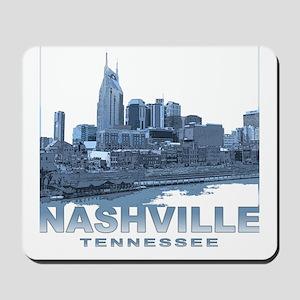 Nashville Tennessee Skyline Mousepad
