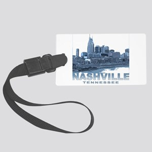 Nashville Tennessee Skyline Luggage Tag
