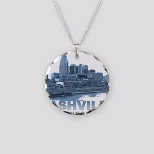 Nashville Tennessee Skyline Necklace
