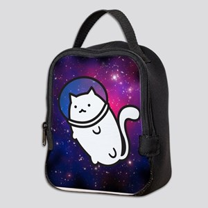 Fat Cat In Space Neoprene Lunch Bag
