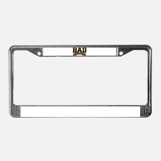 Bad Motherfucker License Plate Frame