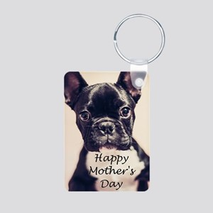 Happy Mother's Day French Bulldog Keychains