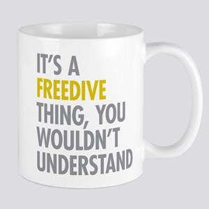 Its A Freedive Thing Mug