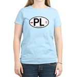 Poland Intl Oval Women's Light T-Shirt