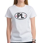 Poland Intl Oval Women's T-Shirt