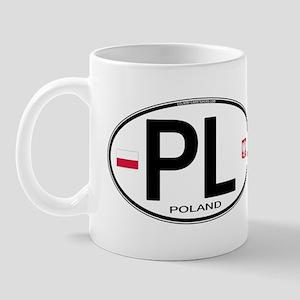 Poland Intl Oval Mug