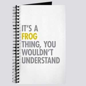 Its A Frog Thing Journal