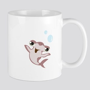 Happy Hammerhead Shark Mugs